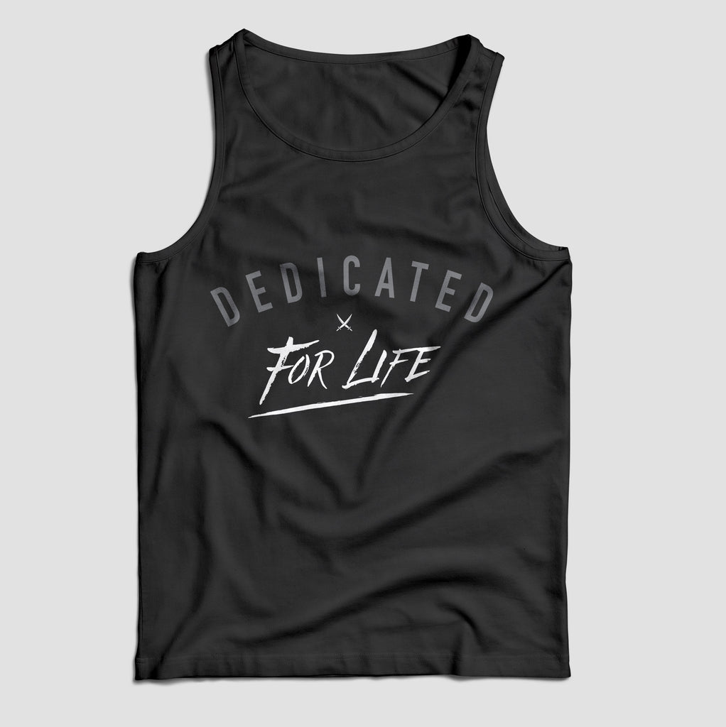 X-Life TANK - Black - Furious Apparel