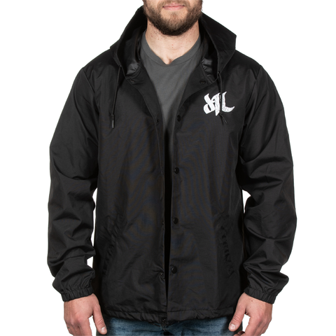 Fragmented Windbreaker - Black