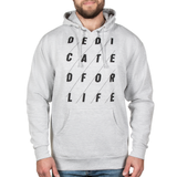 4x4 DEDICATED Hoodie - Grey Heather - Furious Apparel
