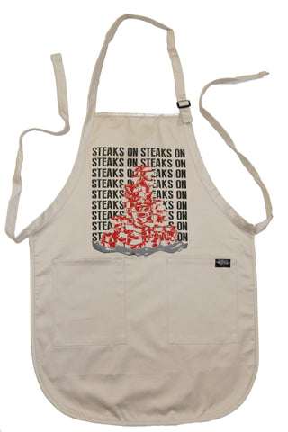 Steaks on Steaks Apron