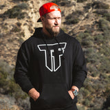 TF Pullover Hoodie - Black - Furious Apparel