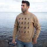 4x4 DEDICATED Crew - Sandstone - Furious Apparel