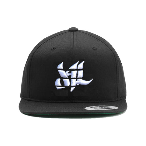 Sport Classic Snapback- Black/White - Furious Apparel