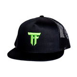 TF Trucker Hat - Monster Green - Furious Apparel