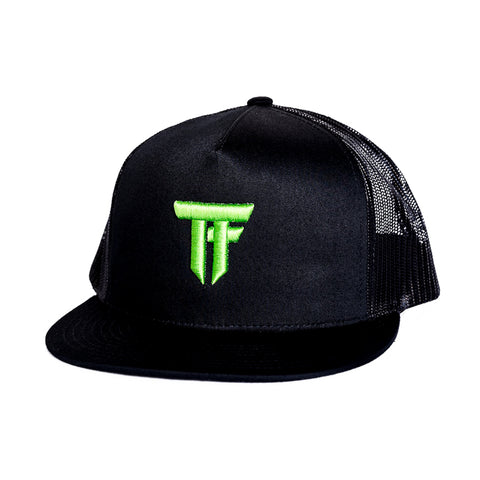 *NEW* TEAM FURIOUS TRUCKER HAT - MONSTER GREEN