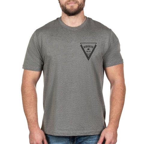 Bermuda Tee - Gunmetal Heather - Furious Apparel