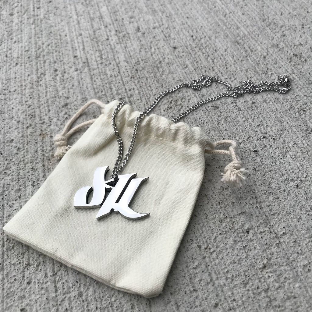 d4L Stainless Steel Necklace - Furious Apparel
