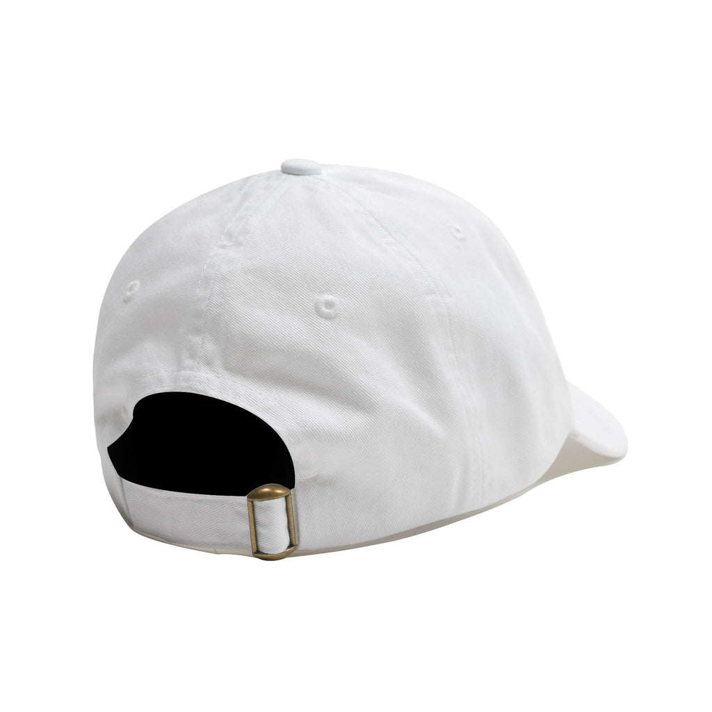 D4L Logo Dad Hat - White - Furious Apparel
