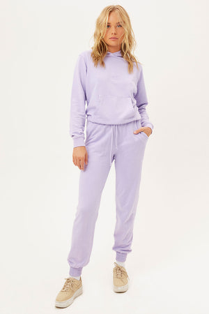 Aiden Lilac Oversized Hoodie