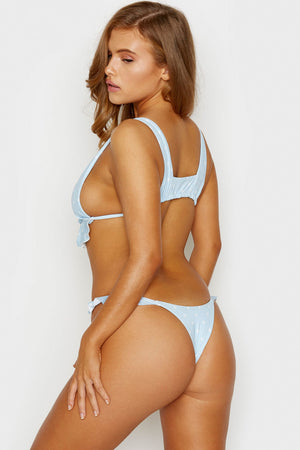 Frankies Bikinis Ali Femme Skimpy Bottom with Ruffle Detail