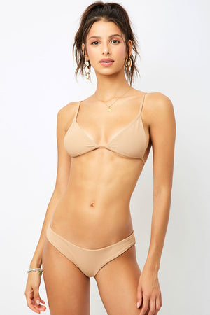 Frankies Bikinis Chase Sand Triangle Top