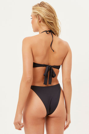 Cielo Black Cheeky Side Tie Bottom