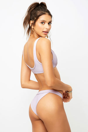 Frankies Bikinis Cole Orchid Cheeky Bottom