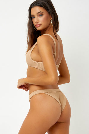 Frankies Bikinis Cole Sand Cheeky Bottom