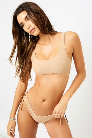 Frankies Bikinis Connor Sand Bralette Top