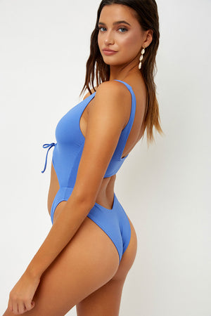 Frankies Bikinis Emma Amparo Cut Out Skimpy One Piece