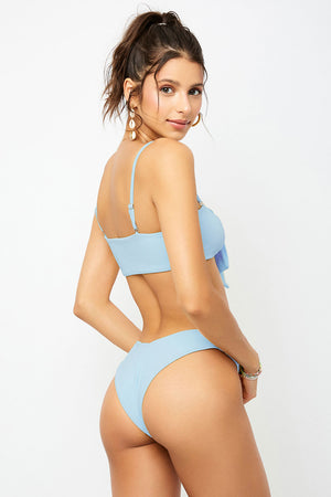 Frankies Bikinis Enzo Cloud V Shape Cheeky Bottom