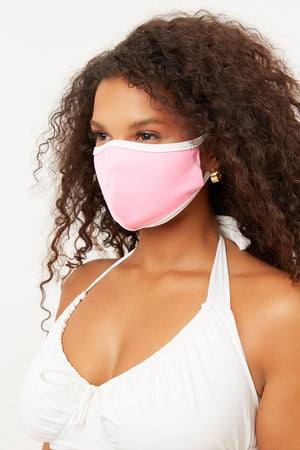 frankies face mask bubblegum pink