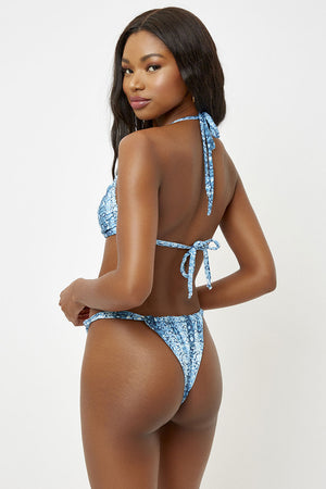 Frankies Bikinis Gabe Mamba Triangle Top