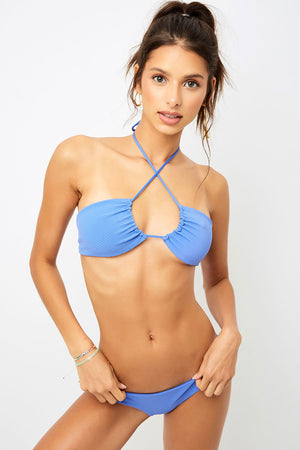 Frankies Bikinis Greer Amparo Ribbed Cheeky Bottom