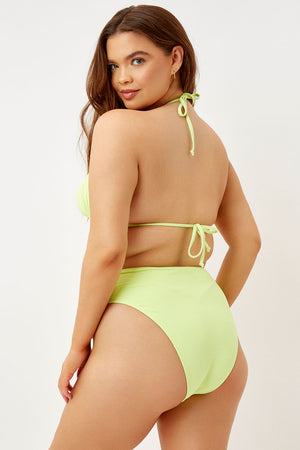 Frankies Bikinis Grotto Sundance High Waist Cheeky Bottom