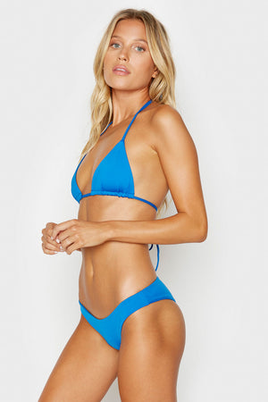 Frankies Bikinis Harley Cobalt Stretch Seamless Booty Bottom