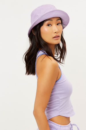 Jax Lilac Bucket Hat