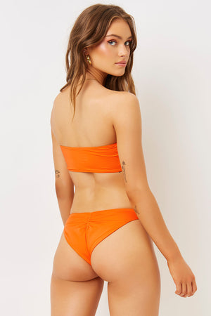 Jeanette Marmalade Strapless Bandeau Top