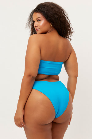 jenna ocean ribbed bandeau top