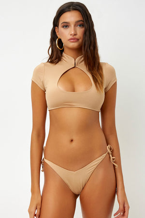 Frankies Bikinis Leigh Sand Skimpy Tie Bottom