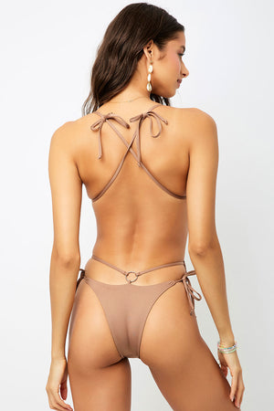 Frankies Bikinis Meredith Brownie Skimpy One Piece