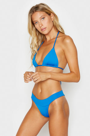 Frankies Bikinis Nick Cobalt Triangle Top