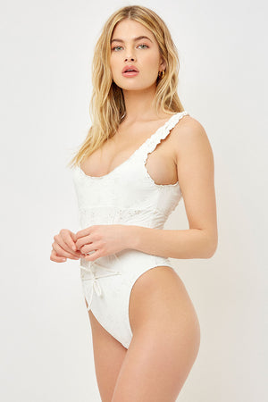 Penelope One Piece - White