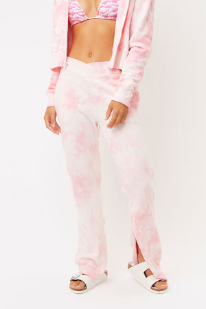 Ranger Heavenly Tie Dye Sweatpant with Split Hem