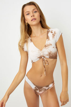 frankies bikinis ryan top brownie tie dye