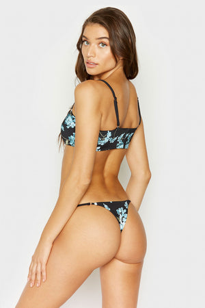 Frankies Bikinis Sadie Nikko Floral Cheeky Bottom