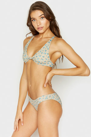 Frankies Bikinis Sandy Spring Bloom Classic Coverage Bottom