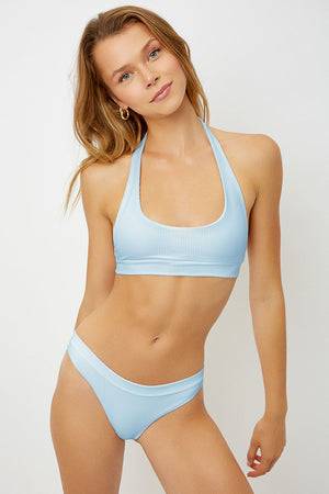Stevie Powder Halter Top