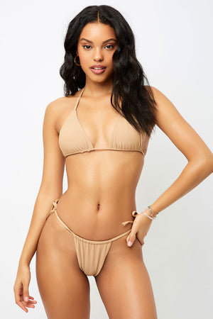 Frankies Bikinis Tia Sand Skimpy String Bottom