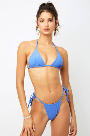 Frankies Bikinis Tia Amparo Triangle Rib Top
