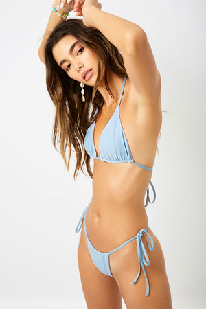 Frankies Bikinis Tia Cloud Triangle Top