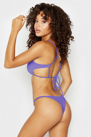 Frankies Bikinis Willa Amethyst Skimpy Bottom