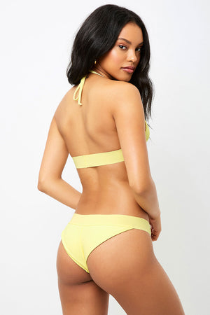 Frankies Bikinis Wyatt Daffodil Cheeky Bottom