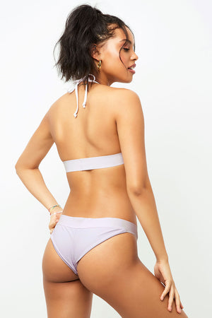 Frankies Bikinis Wyatt Orchid Cheeky Rib Bottom