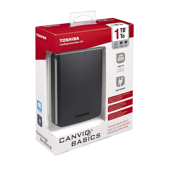 Toshiba Canvio Basics 1 To Disque Dur Externe