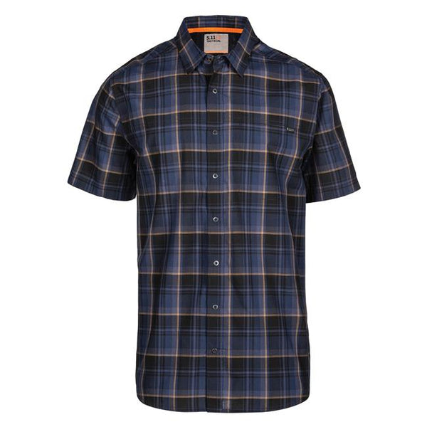 Pacific Navy Plaid