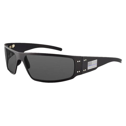 Black (frame) - Smoke Polarized (lens)