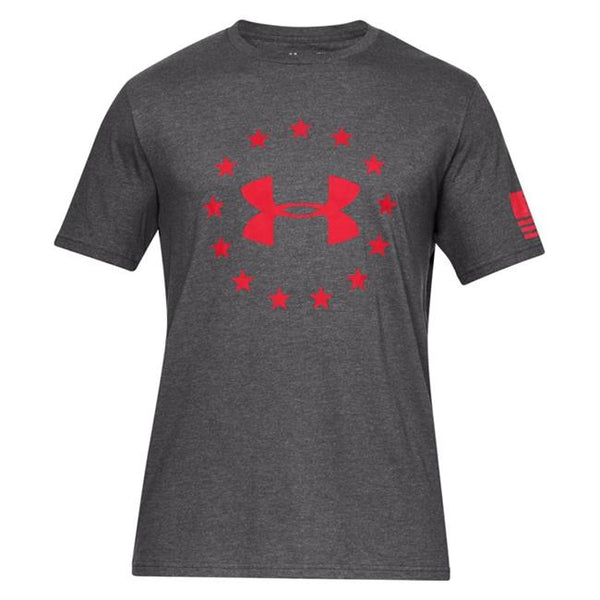 Charcoal Medium Heather / Red