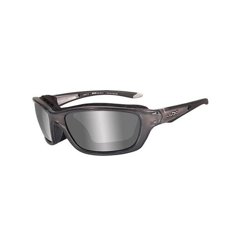 Crystal Metallic (frame) - Silver Flash (lens)