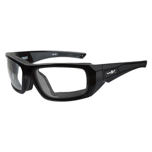 Gloss Black (frame) - Clear (lens)